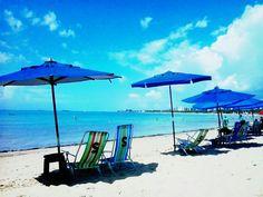 Brasil - Foto da Praia da Ponta Verde. Maceió, Alagoas  - Brasil