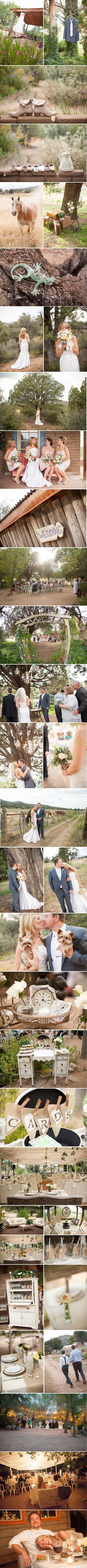 LOVE this rustic wedding! Photography by Verdi Sedona Arizona, Phoenix Arizona, Wedding Dreams, Dream Wedding, Ranch Weddings, From Miss To Mrs, Nice Ideas, Rustic Outdoor, Long Island