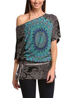 DESIGUAL Top CARLY negro - 74,00€ : Fashion Monicapecado