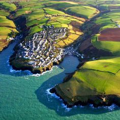 Port Isaac, Cornwall, England, UK.