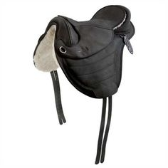 Barefoot Leather Cheyenne All Around Treeless Saddle in Black size 1