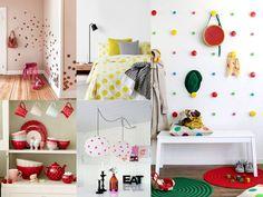 decoración con topos