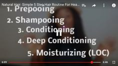 Hair Care tips from NappyFu.  I personally love to just Cleanse with a Cleansing Conditioner and ACV to remove that big buildup.   And sometimes I Cowash after my DC. Especially if I had egg/mayo in my mix.