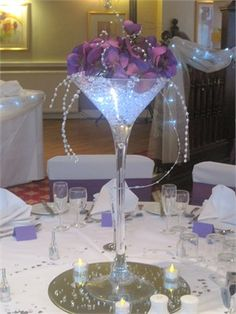 Fashion Martini Glass Centerpiece Party Ideas In 2018 Pinterest Centerpieces Martini