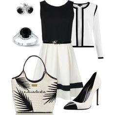 Black and white by eva-malecka on Polyvore