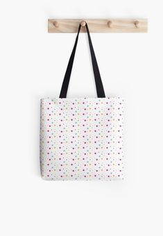 'Star Print' Tote Bag by estheryamuza Printed Tote Bags, Cotton Tote Bags, Large Bags, Small Bags, Star Wars, Minimalist Bag, Medium Bags, Star Print, Decorative Throw Pillows
