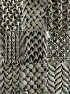 Patternmaking: Fabric Manipulation on Pinterest