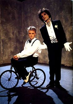 Queen ~ Freddie Mercury and Roger Taylor  Innuendo Photo Session 1990