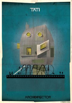 Gallery - ARCHIDIRECTOR: A Fantastical City Inspired by Famous Directors by Federico Babina - 14