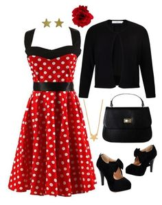 """""""rockabilly happy"""" by linding ❤ liked on Polyvore featuring Accessorize, John Lewis, Minnie Grace and Jennifer Meyer Jewelry"""