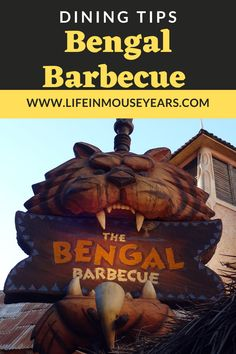 Bengal Barbecue in Disneyland is a great quick service restaurant right in the heart of Adventureland! Delicious BBQ skewers with different sauces, pretzel with cheese, and sides like rice and a very tasty version of coleslaw are some of the options available here. Click to find out more! www.lifeinmouseyears #lifeinmouseyears #disneyland #adventureland #bbq #disneylandskewers Pretzel Cheese, Bbq Skewers, Disneyland Resort, Coleslaw, Bengal, Barbecue, Sauces, Rice, Tasty