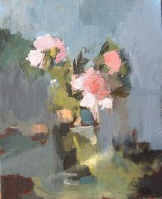 Andree Thobaty is a self-taught artist who lives in Provence and paints modernistic landscapes and still life paintings with a brush and palette knife in rich oils.
