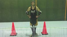 ROLLER DERBY EDGES - The best way to practice EDGES.  My coach has us practice this drill a lot.