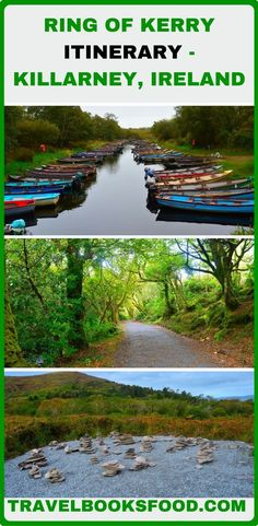 A Ring of Kerry Itinerary Starting from Killarney, Ireland. Find out where to stay, things to do, what to eat on your Ring of Kerry drive. Europe Travel Tips, Travel Guides, Travel Destinations, Travelling Europe, Traveling, Driving In Ireland, Ireland Travel, Ireland Vacation, Ireland Landscape