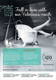I Spa at Indigo Hotels - Fall in love with our Valentine's month. Tel: 202 4920
