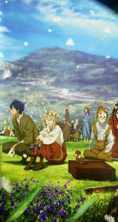 Anime Ai, Otaku Anime, Anime Manga, Anime Couples Manga, Cute Anime Couples, Manga Drawing, Manga Art, Violet Evergarden Wallpaper, Violet Evergreen