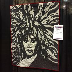 Whoa! Loving this Tina Turner Quilt. Check out the best of QuiltWeek 2015 >> http://blog.diynetwork.com/maderemade/2015/08/21/simply-the-best-of-quiltweek-2015/?soc=pinterest