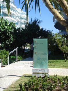 Wayfinding - Totem sign - Les Résidences de Monaco - Recreio (RJ) - Brazil # Brazilian design