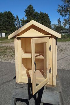 Little Free Library by AnythingWoodStore on Etsy                                                                                                                                                                                 More