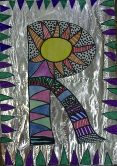 FOLIA ALUMINIOWA Symbols, Letters, School Ideas, Art, Art Background, Kunst, Letter, Performing Arts, Lettering
