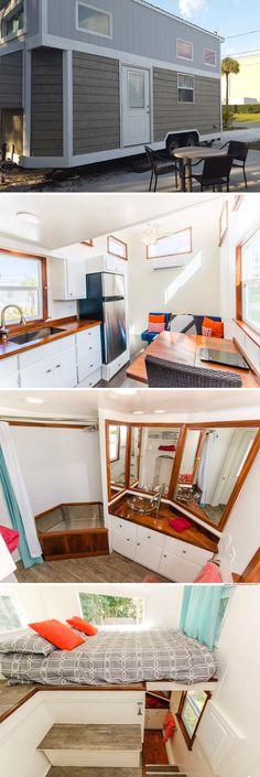 Tiny House Living: The Amy Tiny House (200 sq ft)