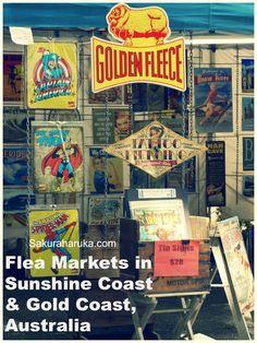 Flea Markets in Sunshine Coast & Gold Coast, Australia - Surfers Paradise Night Beachfront Markets, Carrara Markets and Eumundi Markets Noosa Australia, Visit Australia, Australia Travel, Sunshine Coast, Gold Coast, Lovely Travels, Family Travel, Singapore, Catering