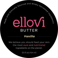 Vanilla Body Butter by Ellovi