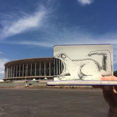 Bocão #jacaré #alligator #crocodile #crocodilo #manegarrincha #arenamanegarrincha #hwt#art # arte #apple #artist #artwork #artoftheday #brasil #brazil #black #blackandwhite #blacknwhite #caderno #cor #color #cartoon #dessin #dibujo #desenho #drawing #esboço #foto #fotos #fotografia #gallery #graphic #graffart #graffiti #graphics #hq #history #historico #ink #instart #iphone5 #iphone6 #intagood #interference #interferencia