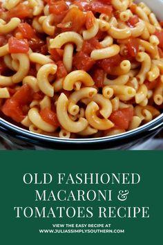 Macaroni Casserole, Casserole Recipes, Pasta Recipes, Beef Recipes, Cooking Recipes, Budget Recipes, Rice Recipes, Tomato Side Dishes, Pasta Side Dishes