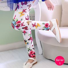 New Arrival Flower Girls Leggings