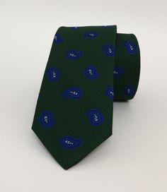 Green Floral Mens Tie 6 cm (2,36 #handmadeatamazon #nazodesign
