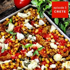 Baked dakos with spiced chickpeas, tomato and feta recipe - yotam ottolenghi Yotam Ottolenghi, Ottolenghi Recipes, Vegetarian Recipes, Cooking Recipes, Healthy Recipes, Vegetarian Cooking, Uk Recipes, Vegetable Recipes, Healthy Food