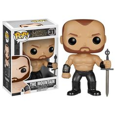 Game of Thrones The Mountain Pop! Vinyl Figure - Funko - Game of Thrones - Pop! Vinyl Figures at Entertainment Earth