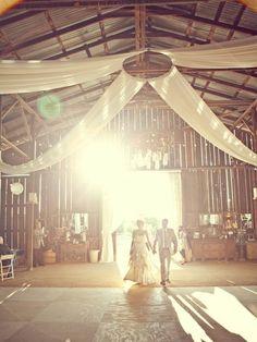 Shabby Chic Country Wedding...hello barn! i-do