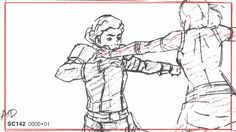 "Pencil tests from the last episode of Legend of Korra ""The Last Stand"" by animator Kwang il Han!"