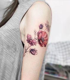 26 tatuagens de flores lindas para quem prefere ver beleza em tudo #beautytatoos