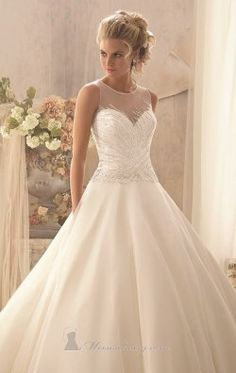 Tulle Gown by Bridal by Mori Lee 2602