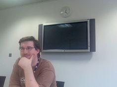 #Neil and the plasma tv