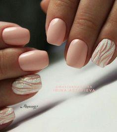 french nails simple Shape in 2020 Shellac Nails, Nail Manicure, Diy Nails, Acrylic Nails, Fancy Nails, Cute Nails, Pretty Nails, Diy Nail Designs, Pedicure Designs