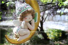 Mimin Dolls How cute! Free pattern