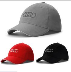802ae99cfac Men Women Baseball Hat Outdoor Travel Cap Car Hat For Audi Car Wholesale  Baseball Caps
