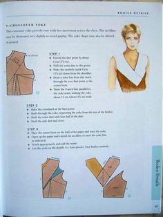 Dart - neckline - top women