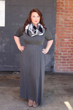Sweetheart Maxi Dress in Charcoal - Be Inspired Boutique