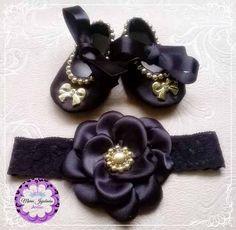 sapatinhos luxuosos customizados para bebê