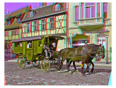 Stagecoach ::: Anaglyph HDR 3D