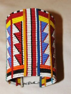 African Maasai Beaded Traditional Ethnic by AfricanPromoters