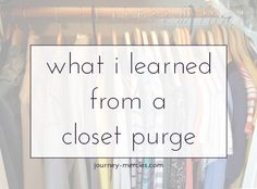 I recently realized a few things about my poor clothing choices - and why I needed fewer clothes. Thoughts on how I purged my closet, why I'm trying out Stitch Fix, and why less is more. Best Of Journey, Complicated Relationship, School Dresses, Im Trying, What I Wore, Elementary Schools, Stitch Fix, Choices, Minimalism