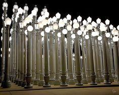 Chris Burden's Lights Four