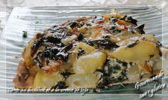 Tarte au haddock à la crème de soja, sans gluten