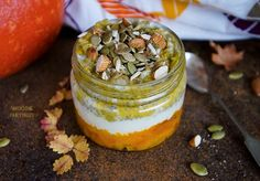 A perfect breakfast or meal replacement idea. Prepare it in advance to save some precious time in the morning. Moreover, it is so healthy and delicious! Perfect Breakfast, Chia Pudding, Healthy Breakfast Recipes, Puddings, Pumpkin, Meal, Chia Pudding Breakfast, Gourd, Food